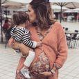 """Tiffany de """"Mariés au premier regard"""" avec sa fille Romy, le 7 septembre 2019, sur Instagram"""