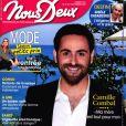 """Magazine """"Nous Deux"""" en kiosques le 10 septembre 2019."""