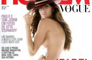 Le top brésilien Izabel Goulart en tenue d'Eve... nous laisse sans voix ! Sublime !