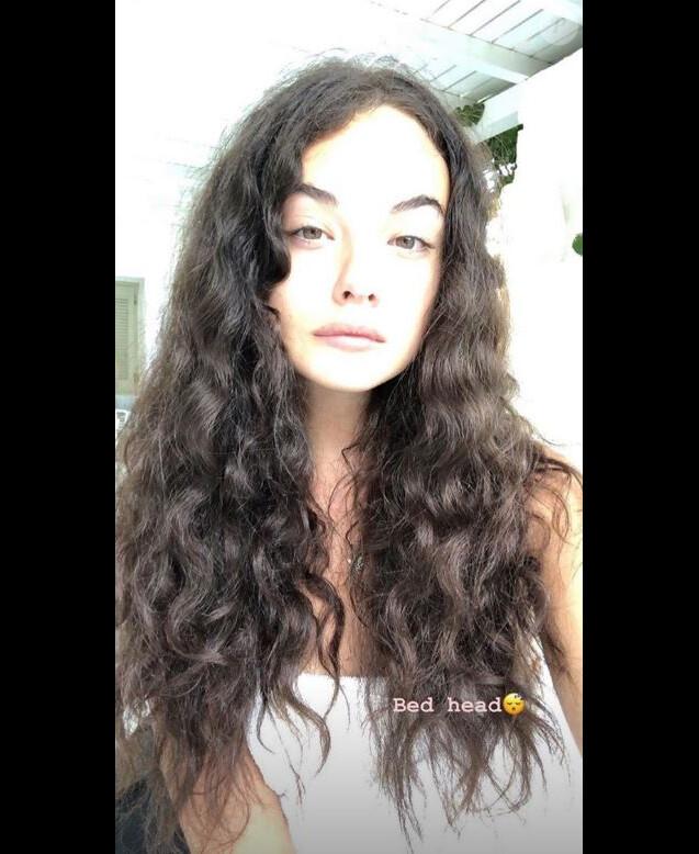 Deva Cassel au révéil. Instagram, le 5 septembre 2019.
