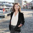 Valérie Karsenti, présidente du jury 2019, au photocall du Jury lors de la 21ème édition du festival de la Fiction de La Rochelle, France, le 11 septembre 2019. © Patrick Bernard/Bestimage