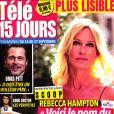 """Rebecca Hampton dans """"Télé 15 Jours"""", en kiosques le 14 septembre 2019."""