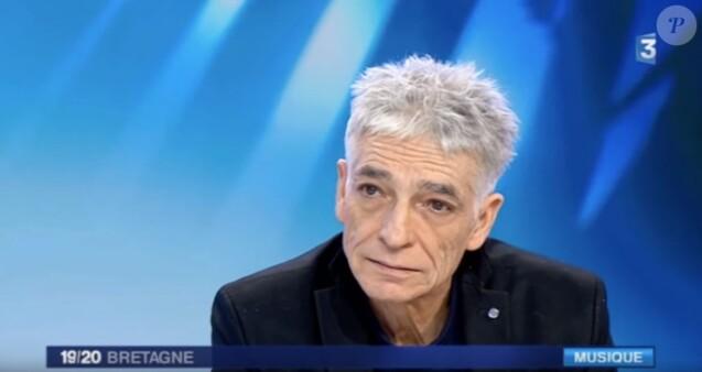 Philippe Pascal lors d'une interview pour France 3 Bretagne en décembre 2017.