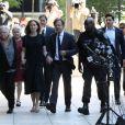 Felicity Huffman au tribunal fédéral de Boston le 13 septembre 2019. L'actrice américaine a été condamnée à deux semaines de prison pour avoir payé 15 000 dollars afin de falsifier les tests d'entrée à l'université de sa fille aînée.