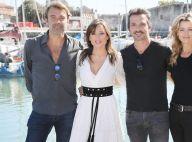Elsa Esnoult retrouve sa famille des Mystères de l'amour à La Rochelle