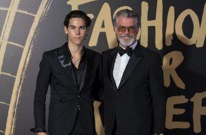 Pierce Brosnan : Mannequin, son fils Paris lui ressemble de plus en plus