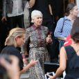 Helen Mirren - Les célébrités assistent au défilé de V. Beckham lors de la fashion week à Londres, le 15 septembre 2019.