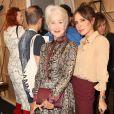 Victoria Beckham et Helen Mirren - Défilé de mode Victoria Beckham organisé à Londres, le 15 septembre 2019.