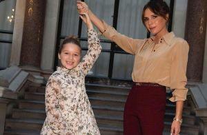 Victoria Beckham : Jolie déclaration d'amour d'Harper en coulisses de son défilé