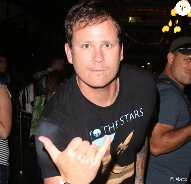 Tom DeLonge (Blink-182, Angels & Airwaves) en 2015 au Comic-Con de San Diego