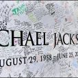 Le mémorial de Michael Jackson près du Staple Center à Los Angeles