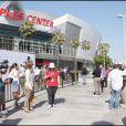 Le Staple Center à Los Angeles où s'est déroulé l'hommage de Michael Jackson