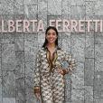 Georgina Rodriguez assiste au défilé Alberta Ferretti printemps-été 2020. Milan, le 18 septembre 2019.