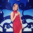Céline Dion sur la scène du Vidéotron de Québec, le 18 septembre 2019, pour le Courage World Tour. Photos révélées par des fans sur Instagram.