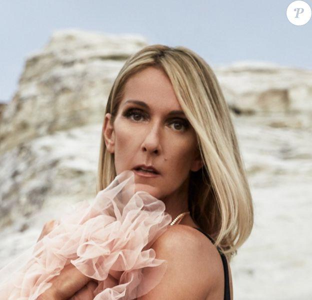 Céline Dion sur sa nouvelle photo de profil sur ses réseaux sociaux. Septembre 2019.