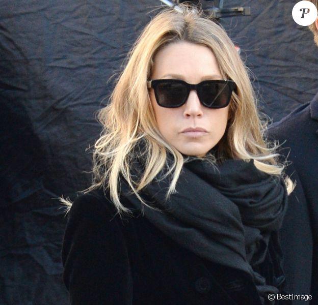 Laura Smet, David Hallyday - Arrivées des personnalités en l'église de La Madeleine pour les obsèques de Johnny Hallyday à Paris le 8 decembre 2017. © Veeren/Bestimage
