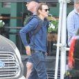 Exclusif - Joaquin Phoenix a été aperçu avec un ami dans les rues de New York. L'acteur est à l'affiche du film à venir 'The Joker', le 29 aout 2018.