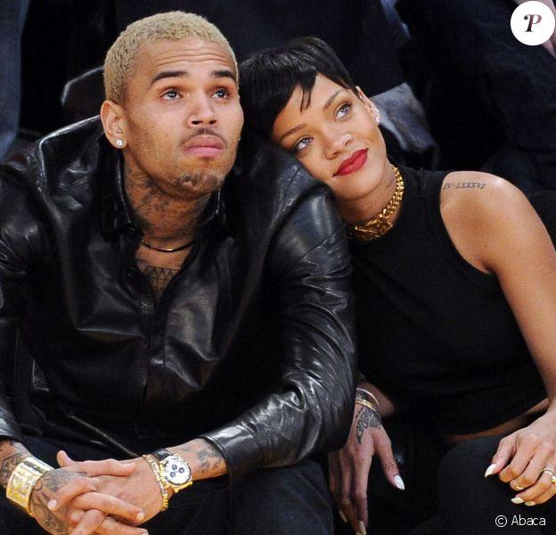 Rihanna et Chris Brown à Los Angeles, le 25 décembre 2012.