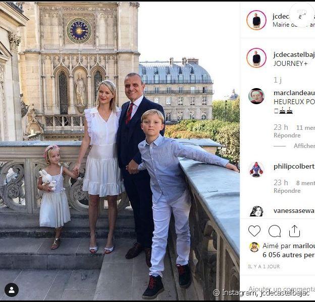 Jean-Charles de Castelbajac annonce s'être marié à Pauline de Drouas à Paris le 21 septembre 2019.