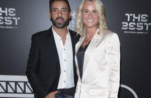 Amandine Henry : Avec son compagnon Karim pour une grande cérémonie foot