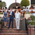 Le prince Harry, duc de Sussex, et Meghan Markle, duchesse de Sussex, se rendent à la résidence de l'ambassadeur à Cape Town, au 2 ème jour de leur visite en Afrique du Sud. Le 24 septembre 2019  On September 24th 2019. The Duke and Duchess of Sussex at a reception at the High Commissioner's Residence in Cape Town, on day two of their tour of Africa.24/09/2019 - Cape Town