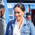 """Meghan Markle, duchesse de Sussex rencontre les membres de """"Waves for Change"""" au Cap lors de leur 2ème journée en Afrique du Sud. Le 24 septembre 2019 24/09/2019 - Cape Town"""