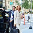 Ivanka Trump de retour chez elle après avoir assisté au discours du président américain lors de l'assemblée générale de l'ONU à New York, le 24 septembre 2019.