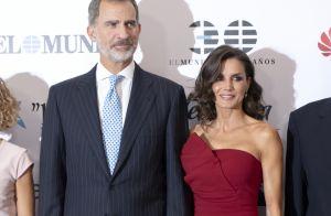 Letizia d'Espagne : Soirée avec le roi en robe glamour, mais déjà vue !