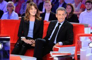 Carla Bruni et Nicolas Sarkozy : Tendre complicité chez Michel Drucker