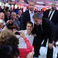 """Exclusif - Nicolas Sarkozy - Enregistrement de l'émission """"Vivement Dimanche"""" à Paris le 30 septembre 2019. Diffusion le 06/10/2019 sur France 2 . © Guillaume Gaffiot/Bestimage"""