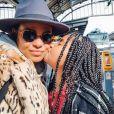 Christina Milian enceinte : Elle débarque à Strasbourg pour voir son chéri M. Pokora avec Violet (4 octobre 2019).