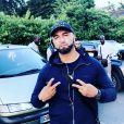 Le rappeur Samat, tué par balles le lundi 7 octobre 2019, sur Instagram.