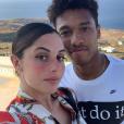 Coralie Porrovecchio et son chéri Boubacar Kamara, sur Instagram le 9 octobre 2019.