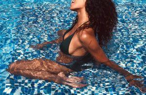 Shy'm nostalgique de l'été : elle dévoile des photos en bikini...