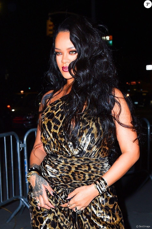Rihanna Arrive Au Musee Solomon R Guggenheim Pour Le