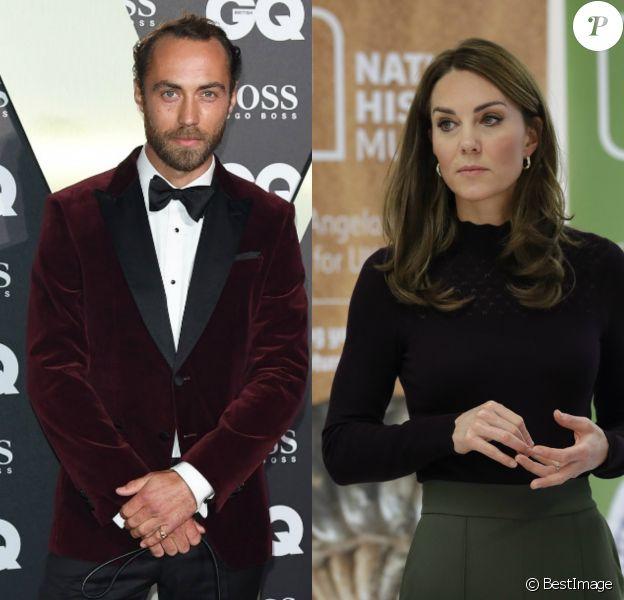 """James Middleton raconte comment sa soeur Kate Middleton l'a aidé à lutter contre la dépression, dans une interview au """"Telegraph"""", le 12 octobre 2019."""