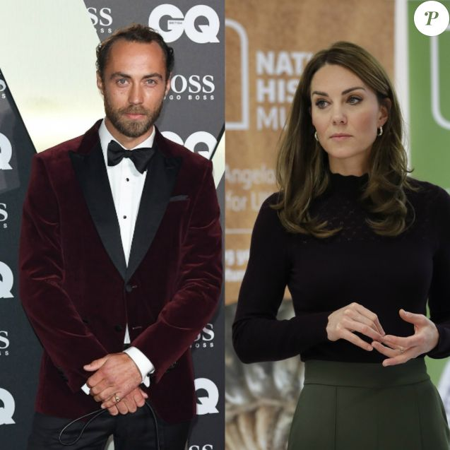 "James Middleton raconte comment sa soeur Kate Middleton l'a aidé à lutter contre la dépression, dans une interview au ""Telegraph"", le 12 octobre 2019."