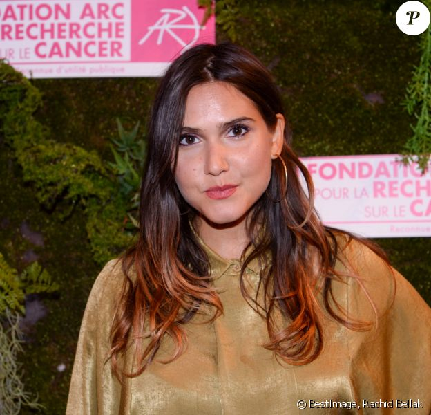 Exclusif - Joyce Jonathan - Dîner de la Fondation ARC au Pavillon Cambon-Capucines à Paris, le 7 octobre 2019. © Rachid Bellak / Bestimage