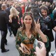 """Joyce Jonathan arrive au palais du Festival pour la première de """"Douleur et Gloire"""" lors du 72ème Festival International du Film de Cannes, le 17 mai 2019. © Rachid Bellak/Bestimage"""