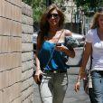 Audrina Patridge arrive au Sunset Landmark à Hollywood le 14 juillet 2009