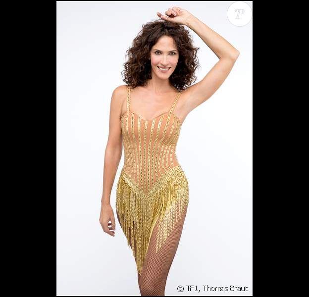 """Linda Hardy, photo officielle de """"Danse avec les stars 2019"""", sur TF1"""