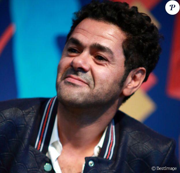 Jamel Debbouze - Les célébrités en concert pendant le festival 'Les Vieilles Charrues' à Carhaix-Plouguer en Bretagne, le 20 juillet 2019.