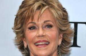 La célèbre et rayonnante Jane Fonda, 71 ans, a retrouvé l'amour et... l'humour trash !
