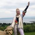 Jazmin Grace Grimaldi, la fille aînée du prince Albert, de passage en Irlande, le 9 août 2019.
