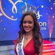 Morgane Lebon, Miss Réunion 2019, se présentera à l'élection Miss France 2020 le 14 décembre 2019.