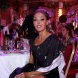 Exclusif - Indra Kuldasaar lors de la 3ème édition de l'élection de Miss Beauté nationale et du 21e anniversaire de l'association Citestars fête son 21ème anniversaire aux Salons Hoche à Paris le 20 octobre 2019. © Cédric Perrin/Bestimage