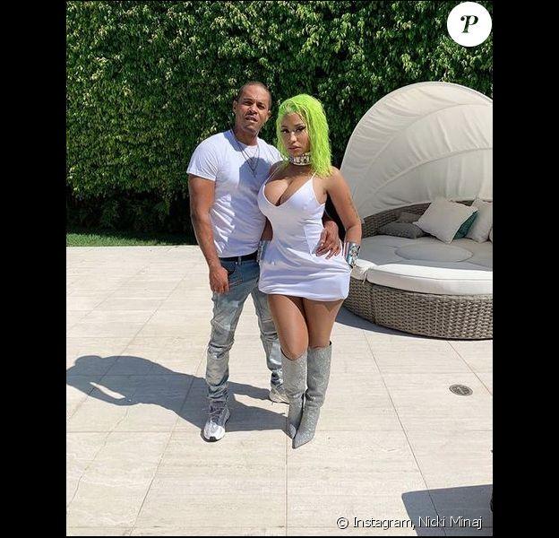 Nicki Minaj et son mari, Kenneth Petty. Août 2019.