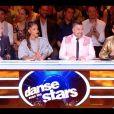"""Le jury de l'émission """"Danse avec les stars 10"""". TF1. Le 26 octobre 2019."""
