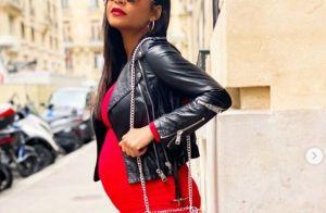 Christina Milian enceinte de M.Pokora : son ventre bien arrondi à Paris