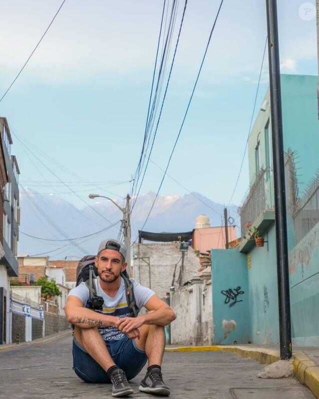 """Florian de """"Mariés au premier regard 2"""" au Pérou, sur Instagram, le 29 septembre 2019"""